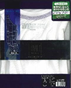 BVD NEW YORK クルーネックスリーブレス M〜L