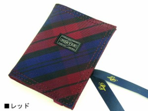 ポーター 吉田カバン BLOOM ブルーム パスケース レッド 735-09668