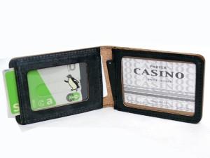 ポーター 吉田カバン CASINO カジノ イギリス製ブライドルレザー使用 パスケース ブラック 214-04622 送料無料