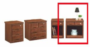 【送料無料】50ベッドサイドテーブル!ナイトテーブル オープンタイプ コンセント付き 鍵付き かぎ カギ ブラウン ライトブラウン★ik05d