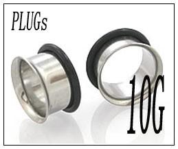 ボディピアス PLUGSジュエリー(10G)