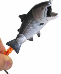 動く!鮭ストラップ