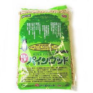 【安全猫砂】パインウッド6L