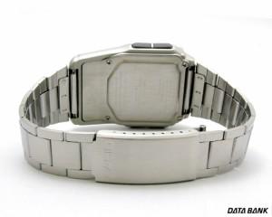 カシオ 腕時計 データバンクDBC32D-1ADF黒×銀