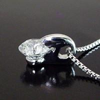 【鑑定書付き 】プラチナ 0.5カラット Dカラー ダイヤモンドネックレス 3営業前後の発送予定