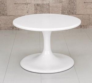 【送料無料!ポイント2%】まるでオブジェのようなデザイン!ラウンドローテーブル