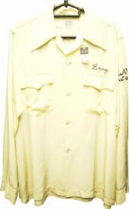 VINTAGE ACETATE 60S ボーリングシャツ sizeM