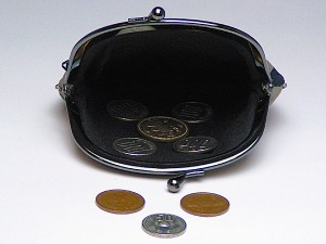 和柄がま口財布大 小銭入れ コインケース メンズレディース 日本製 和風おしゃれカジュアル かわいい 大きいサイズ便利 小物入れ(色K011)
