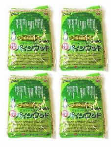 【安全猫砂】パインウッド6L×4袋♪送料無料♪