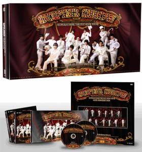 (再発売)韓国音楽 スーパージュニア(Super Junior)- 1st コンサート Super Show DVD(2Disc+フォトブック)