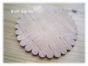 オロチョン族☆白樺の木のコースター☆ハンドメイド
