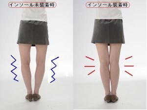 【送料無料!ポイント2%】O脚・むくみ・下半身太りに!いつもの靴に入れるだけ!スリムインソール