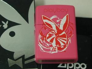 ジッポーZippoプレイボーイ Playboy ピンク綺麗