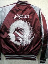 スカジャン 鳳凰 日本製本格刺繍のスカジャン