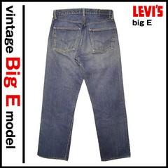 Vintage LEVI'S 501BIG E W32L28.5