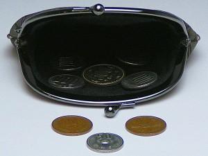 和柄がま口財布大 小銭入れ コインケース メンズレディース 日本製 和風おしゃれカジュアル かわいい 大きいサイズ便利 小物入れ(色K012)