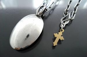 【送料無料】 amp japan アンプジャパン リミテッドクロス 聖母マリア ネックレス 6AM-140