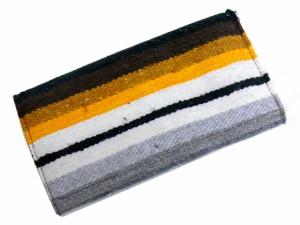 TIDEWAY タイドウェイ RUG ラグシリーズ グアテマラ産ラグxレザーウォッシュロングウォレット 63-0895 送\0
