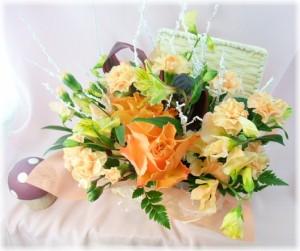 12月の誕生花宝石箱アレンジ4,000円【送料無料】