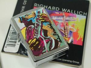 ジッポーZippo Richard Wallich リチャード・ウォリック Guitarギター新品