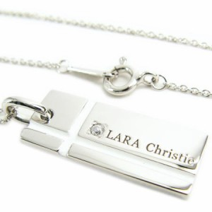 送料無料LARA Christie*ノーブル シルバー925 クロスネックレス [WHITE Label]P3051