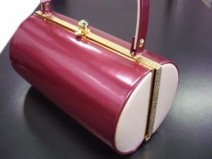 振袖成人式&袴・訪問着に エナメル草履バッグセットピンク(薄ピンク)M・L