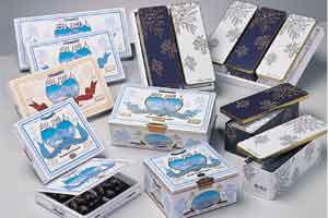 石屋製菓【白い恋人18枚入り】ホワイトチョコレートとラングドシャーで北海道の雪と恋いを表現/北海道限定/お取り寄せ