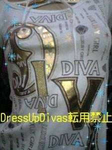 LADiva☆ロゴだらけハイランクTシャツ☆激レア【TOP】