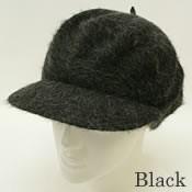 2個1000円引き/[メール便]帽子アンゴラ素材のレディースキャスケットlcas0062