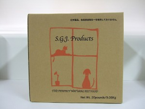 送料無料【SGJプロダクツ】プレミアム・ドッグ(普通粒)中・大型犬用 22.7kg
