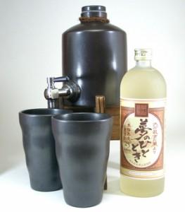 【送料無料】焼酎サーバー豪華セット(【限定酒】井上酒造 夢のひととき 25度 720 )