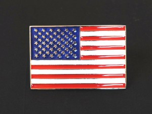 【メール便送料無料】ベルト バックル USAフラッグ 星条旗 buc-00248 ┃