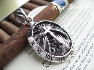 ■ギリシャ時計■牢獄マリア◇シルバーペンダント■SV925・PD