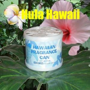 ハワイ雑貨 ハワイアンフレグランス缶 ココナッツ ハワイアン雑貨 通販で人気の香り♪