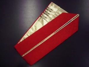 振袖(成人式)&袴に♪2色使いの重ね衿赤金