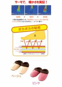 【スペース暖 ポカポカルームシューズ】冷え性 対策、冷え性 足、防寒 シューズ、防寒 対策、防寒 グッズ、暖かい シューズ