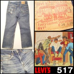 USED Levi's 517 レギュラー W34L29.5