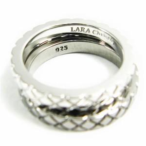 ペアリング 人気ブランド LARA Christie 送料無料 シルバー ノーブラストペアリング R3874-P /18,144 円