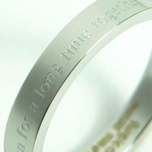 【SR2★19号】永遠の輝き高級ステンレスリング★人気のピンキーリング細★メンズ/レディース/ペア指輪