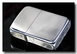 【送料無料】zippo ジッポーライター 純銀 1941スタ−リングシルバ−ジッポ NO.23 ポリッシュ仕上げ