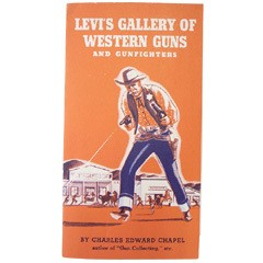 VINTAGE LEVI'S Western Handgun Leaflet 1950S ヴィンテージ リーバイス 西部ピストル 豆知識本