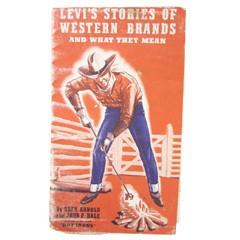 VINTAGE LEVI'S Brand Leaflet 1950S ヴィンテージ リーバイス 焼き印 豆知識本