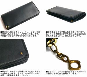 ポーター 吉田カバン GRUNGE グランジ イタリアンレザーロングウォレット ブラック 071-04970 送料無料