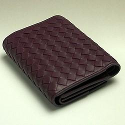 [あす着]【SALE!!】ボッテガ・ヴェネタ BOTTEGAVENETA 三つ折り財布 アウトレット 152962