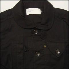 ラ・ロスティエール クラシック ワークジャケット ブラック ラスト:Lサイズ (LA LOSTIER)