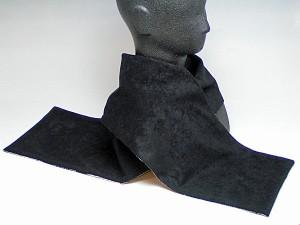 【和柄ショールストール】暖かくて軽くてオシャレな和柄ちりめんフリースマフラー。コートやスカジャン、和服にもピッタリ(色170)