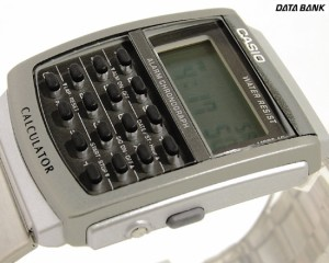 カシオ 腕時計 カリキュレーター 海外モデル CA-506-1UW スタンダード シルバー×ブラック