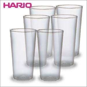 HARIO(ハリオ)【耐熱タンブラー 300ml  6個組】HPG-300