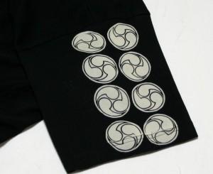 """【1】和柄Tシャツ """"風神雷神07"""""""