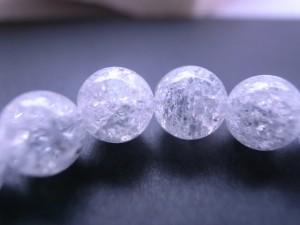 奇跡の石クラック水晶8mmブレスレット